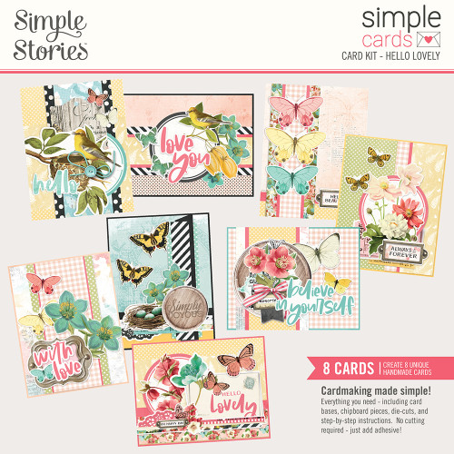 "Simple Stories ""Simple Cards"" Card Kit: Hello Lovely"