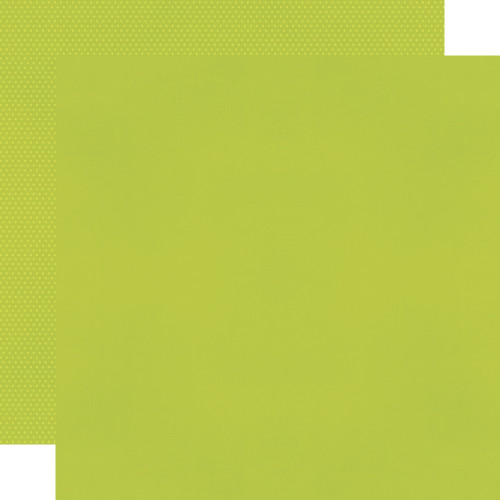 Simple Stories Color Vibe 12x12 Textured Cardstock: Lime