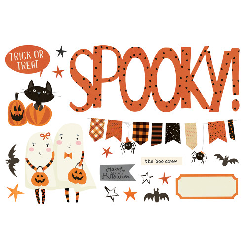 """*PREORDER* Simple Stories """"Simple Pages"""" Page Pieces: Halloween"""