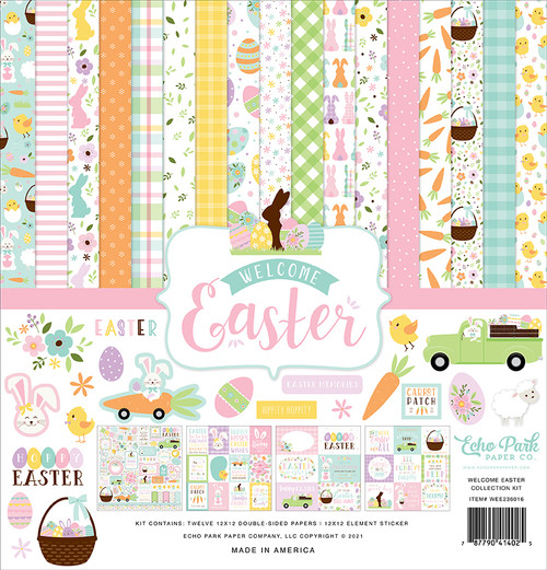 Echo Park Welcome Easter Collection Kit
