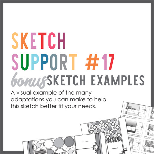 * DIGITAL DOWNLOAD * Allison Davis for SG | Sketch Support Bonus Sketch Examples #17