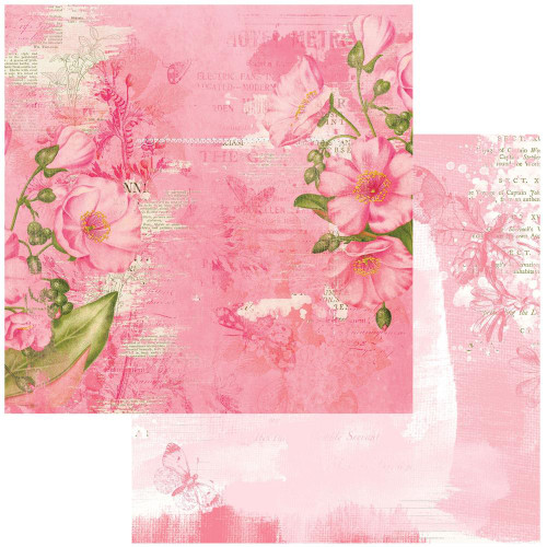 49 and Market Vintage Artistry 12x12 Paper: Blush | Radiate