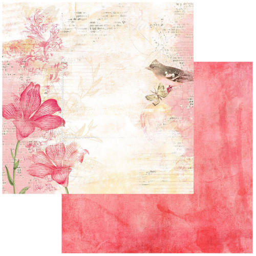 49 and Market Vintage Artistry 12x12 Paper: Blush | Poised
