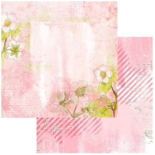 49 and Market Vintage Artistry 12x12 Paper: Blush | Serene