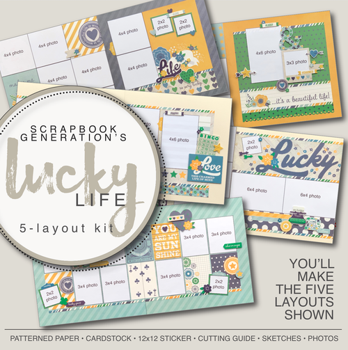 SG: Lucky Life - 5 Layout Kit