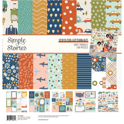 Simple Stories Safe Travels Collection Kit