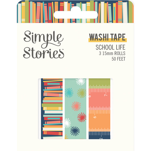 Simple Stories School Life Washi Tape