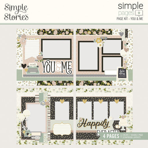 "Simple Stories ""Simple Pages"" Page Kit: You & Me"