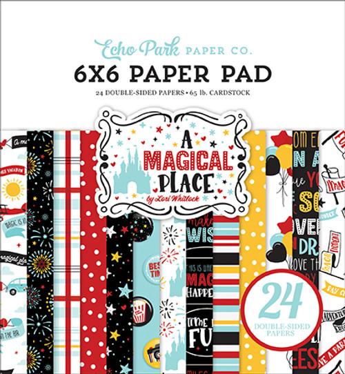Echo Park A Magical Place 6x6 Paper Pad