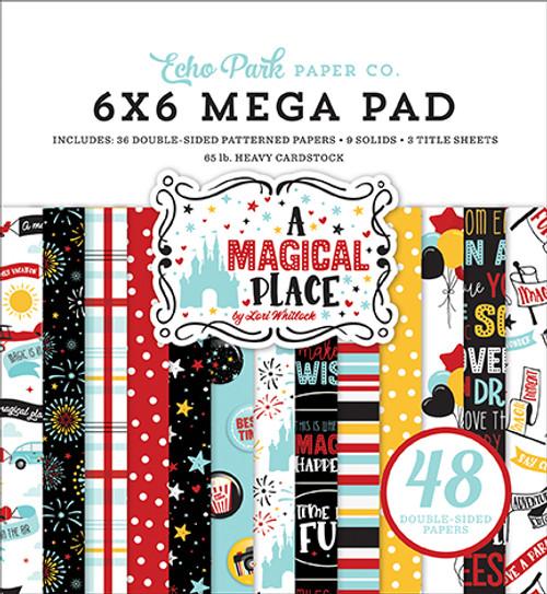 Echo Park A Magical Place Cardmakers 6x6 Mega Pad