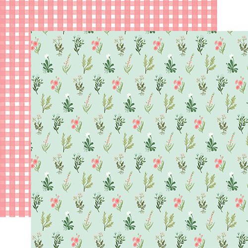 Carta Bella Flower Garden 12x12 Paper: Beautiful Day Floral
