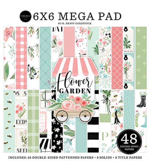 Carta Bella Flower Garden Cardmakers 6x6 Mega Pad