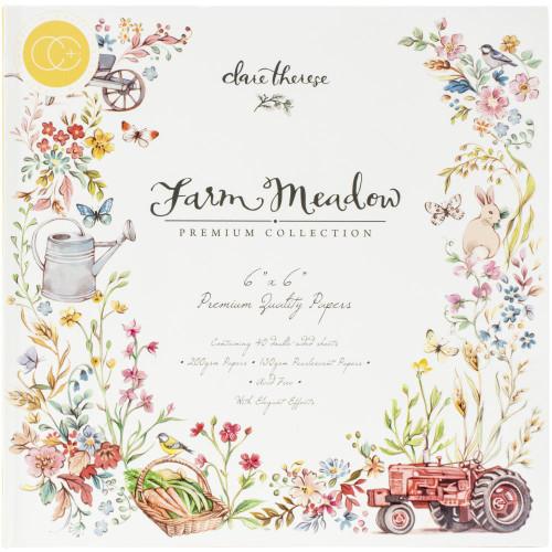 Craft Consortium 6x6 Paper Pad: Farm Meadow
