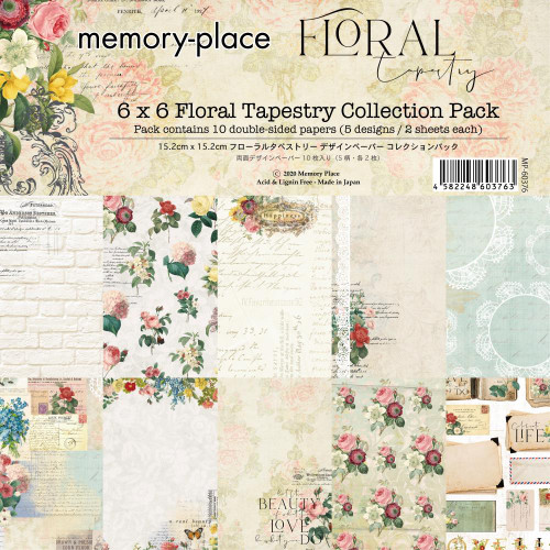 Memory Place 6x6 Paper Pad: Floral Tapestry