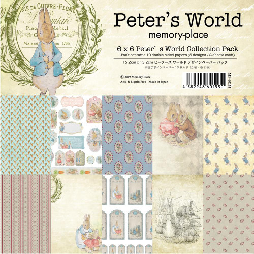 Memory Place 6x6 Paper Pad: Peter's World