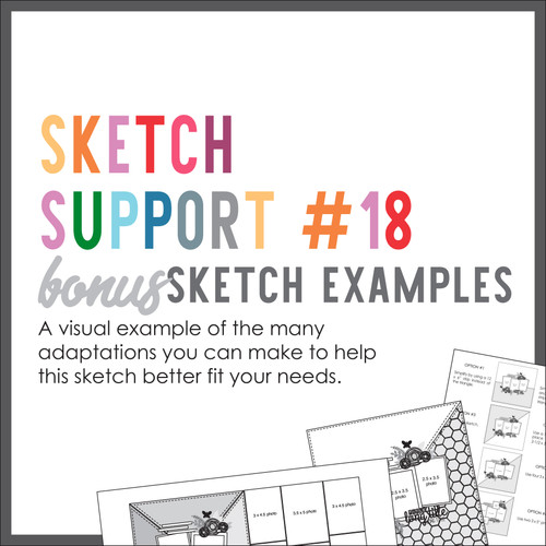 * DIGITAL DOWNLOAD * Allison Davis for SG | Sketch Support Bonus Sketch Examples #18