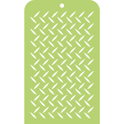 "Kaisercraft Mini Designer Templates 3.5""X5.75"" - Checker Plate"
