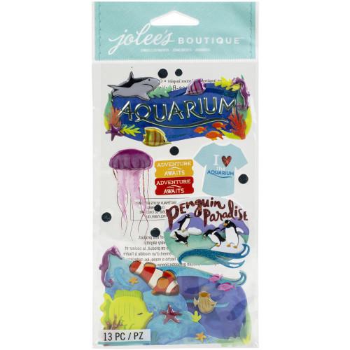 Jolee's Boutique Le Grande Dimensional Stickers: Aquarium