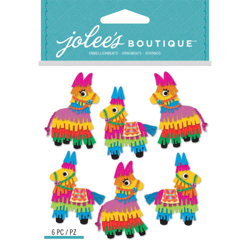 Jolee's Boutique Dimensional Stickers: Mini Pinatas