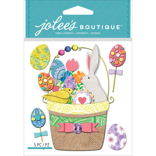 Jolee's Boutique Dimensional Stickers: Easter Basket