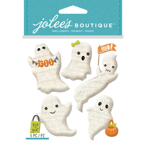 Jolee's Boutique Dimensional Stickers: Gauze Ghosts