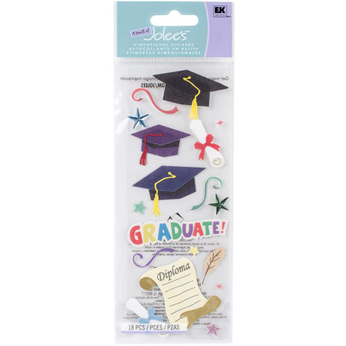 Touch of Jolee's Boutique Stickers: Graduation III