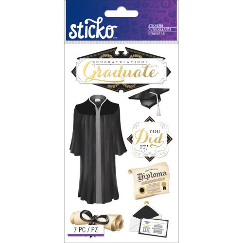 Sticko Flat Stickers: Congratulations Grad