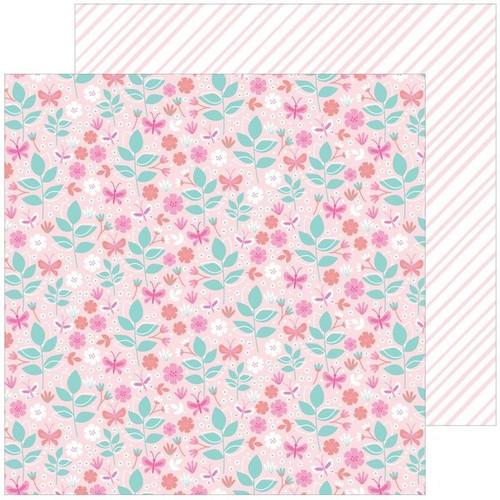 Pinkfresh Studio Keeping It Real 12x12 Paper: Tiny Victories