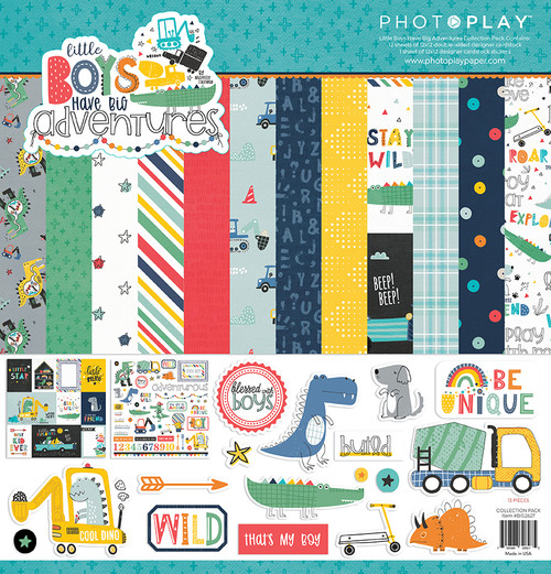 PhotoPlay Little Boys Have Big Adventures Collection Pack