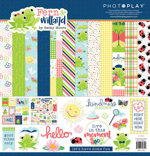 PhotoPlay Fern & Willard Collection Pack
