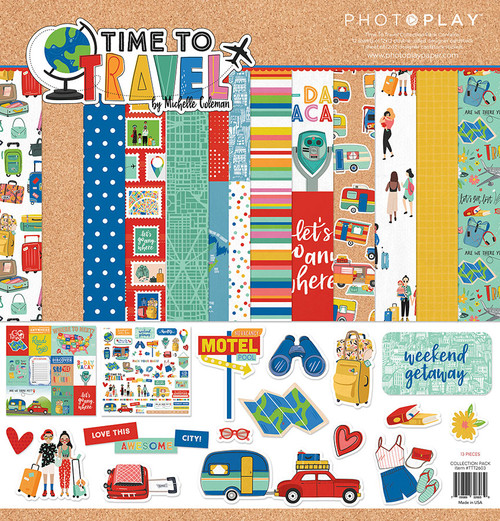 PhotoPlay Time to Travel Collection Pack