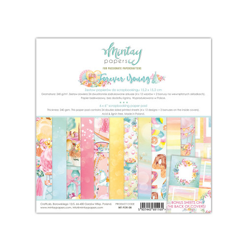 Mintay Papers Forever Young 6x6 Paper Pad
