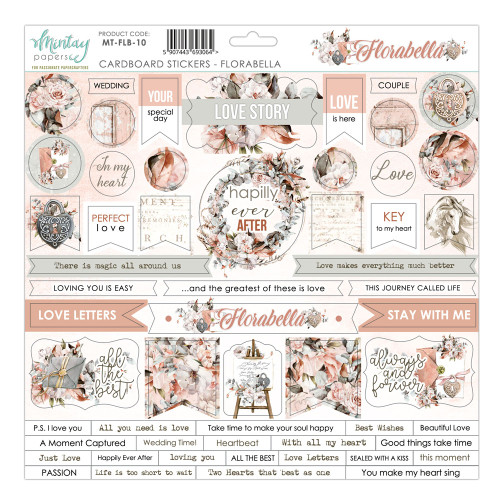 Mintay Papers Florabella 12x12 Sticker