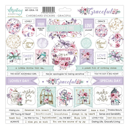 Mintay Papers Graceful 12x12 Sticker