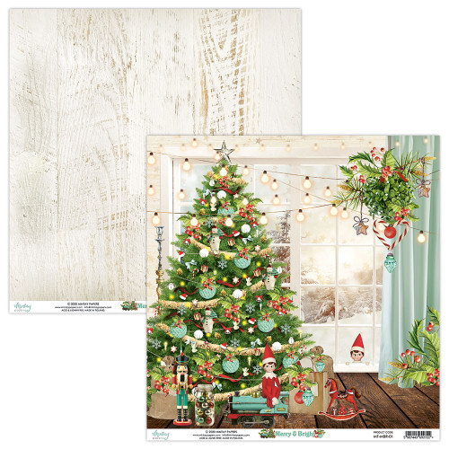 Mintay Papers 12x12 Paper: Merry & Bright - 01
