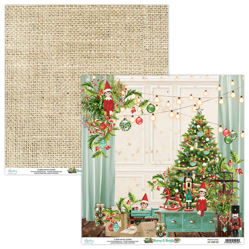 Mintay Papers 12x12 Paper: Merry & Bright - 03
