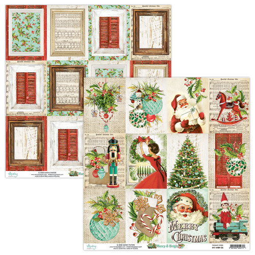Mintay Papers 12x12 Paper: Merry & Bright - 06