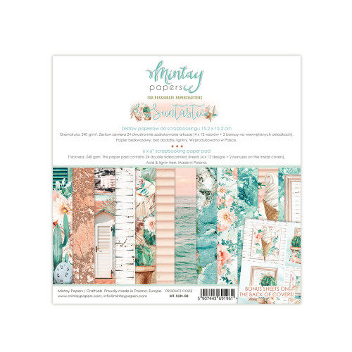 Mintay Papers Suntastic 6x6 Paper Pad