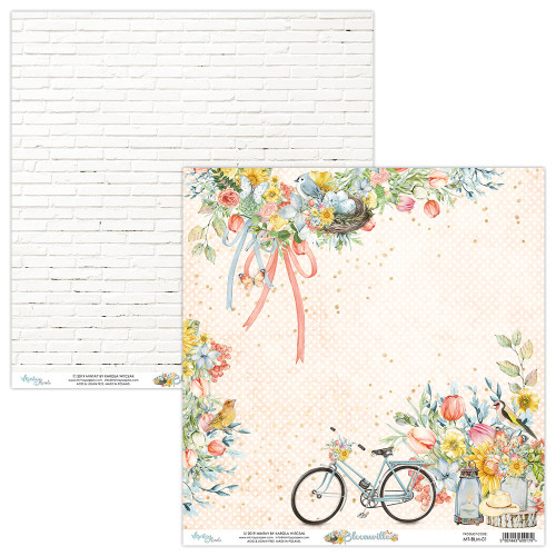 Mintay Papers 12x12 Paper: Bloomville - 01