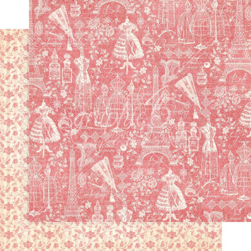 Graphic 45 Elegance 12x12 Paper: Charming