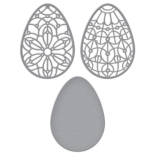 Spellbinders Detailed Cutting Dies: Forever Spring Eggs