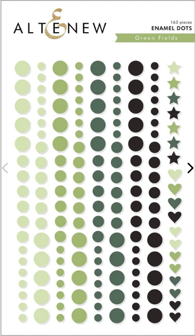Altenew Enamel Dots: Green Fields