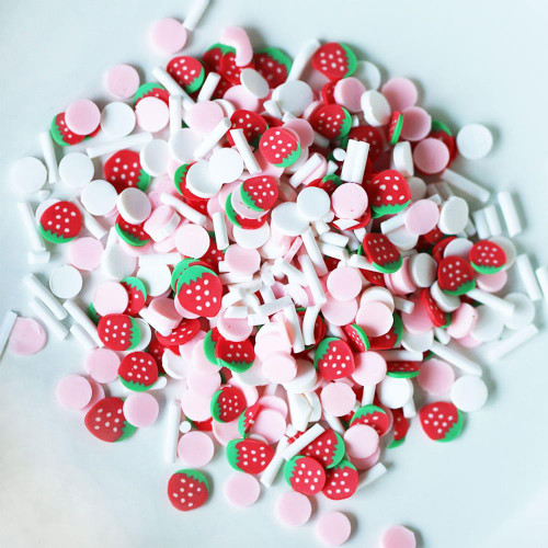 Dress My Craft Shaker Elements: Strawberry Confetti Mix