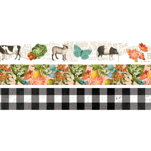Simple Stories Simple Vintage Farmhouse Garden Washi Tape