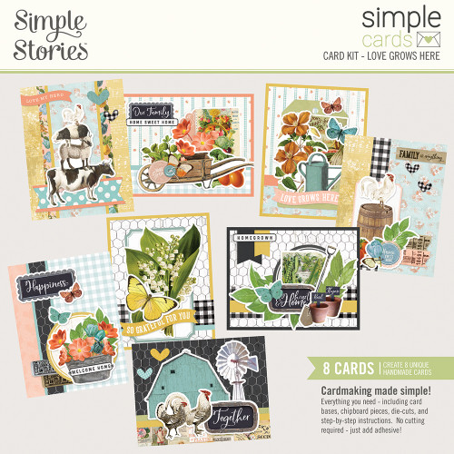 "Simple Stories ""Simple Cards"" Card Kit: Love Grows Here"