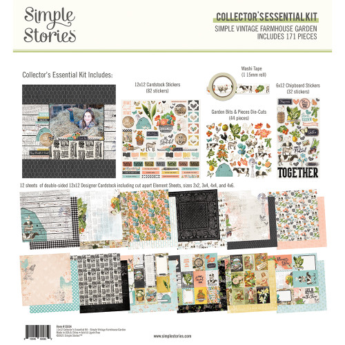 Simple Stories Simple Vintage Farmhouse Garden Collector's Essential Kit