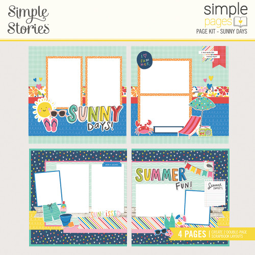 "Simple Stories ""Simple Pages"" Page Kit: Sunny Days"