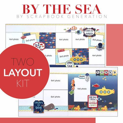 SG: By the Sea - 2 Layout Kit