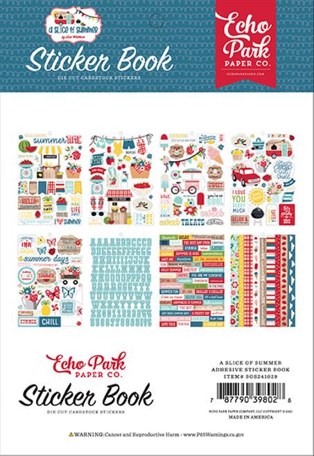 Echo Park A Slice of Summer Sticker Book