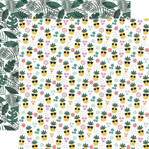 Echo Park Pool Party 12x12 Paper: Pineapple Paradise